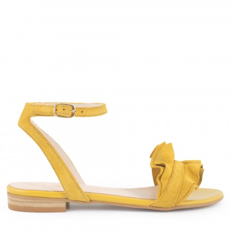 Sandalia medici volantes amarillo
