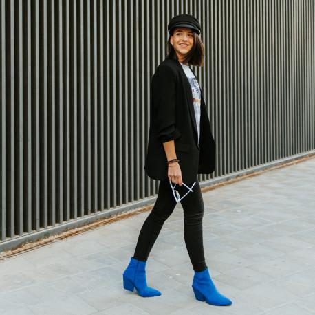Botin Dallas Suede azul