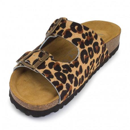 Sandalia plana bio pony baby jaguar