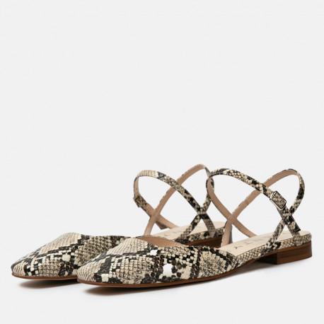 Zapatos destalonados Jenny Habibi beige
