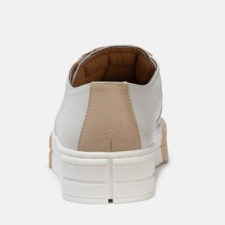 Sneaker Meraki plaza blanco latte machiato