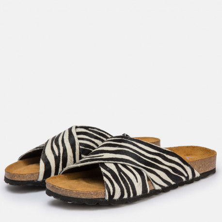 Sandalia plana bio pon pant tiger