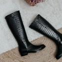 Black coco boots MORGAN