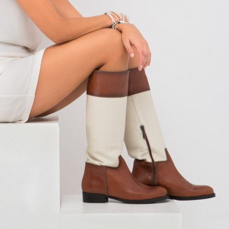 Ice leather boot MORGAN