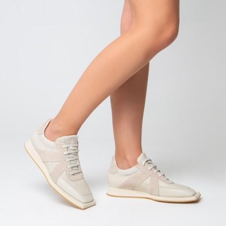 Sneaker piel beige  JONAS