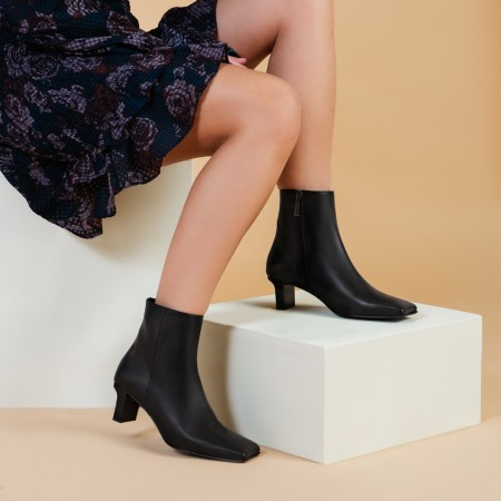 Black ankle boots MARILOU