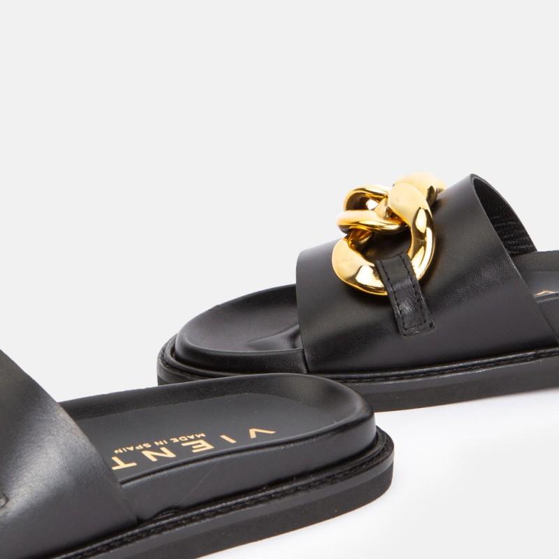 Sandalia cadena negro MINION
