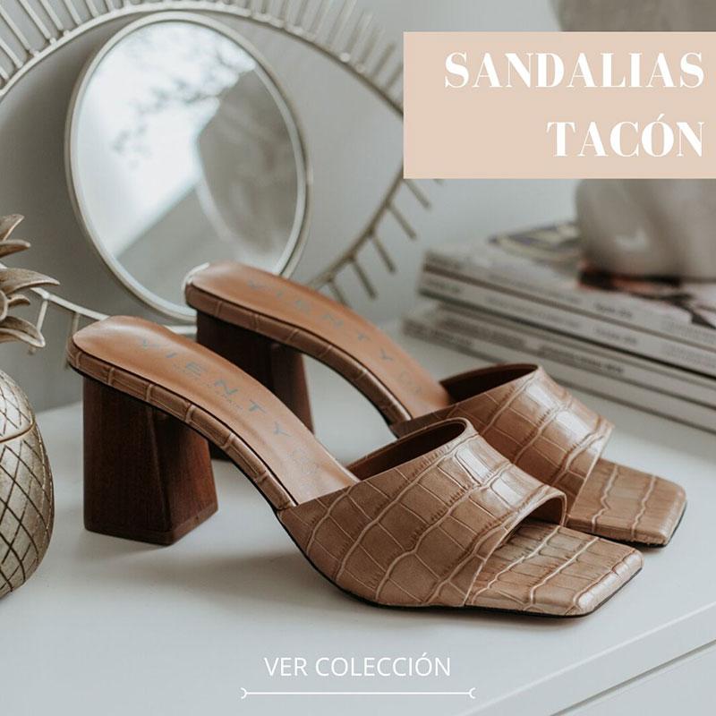 Vienty Sandalias Tacon