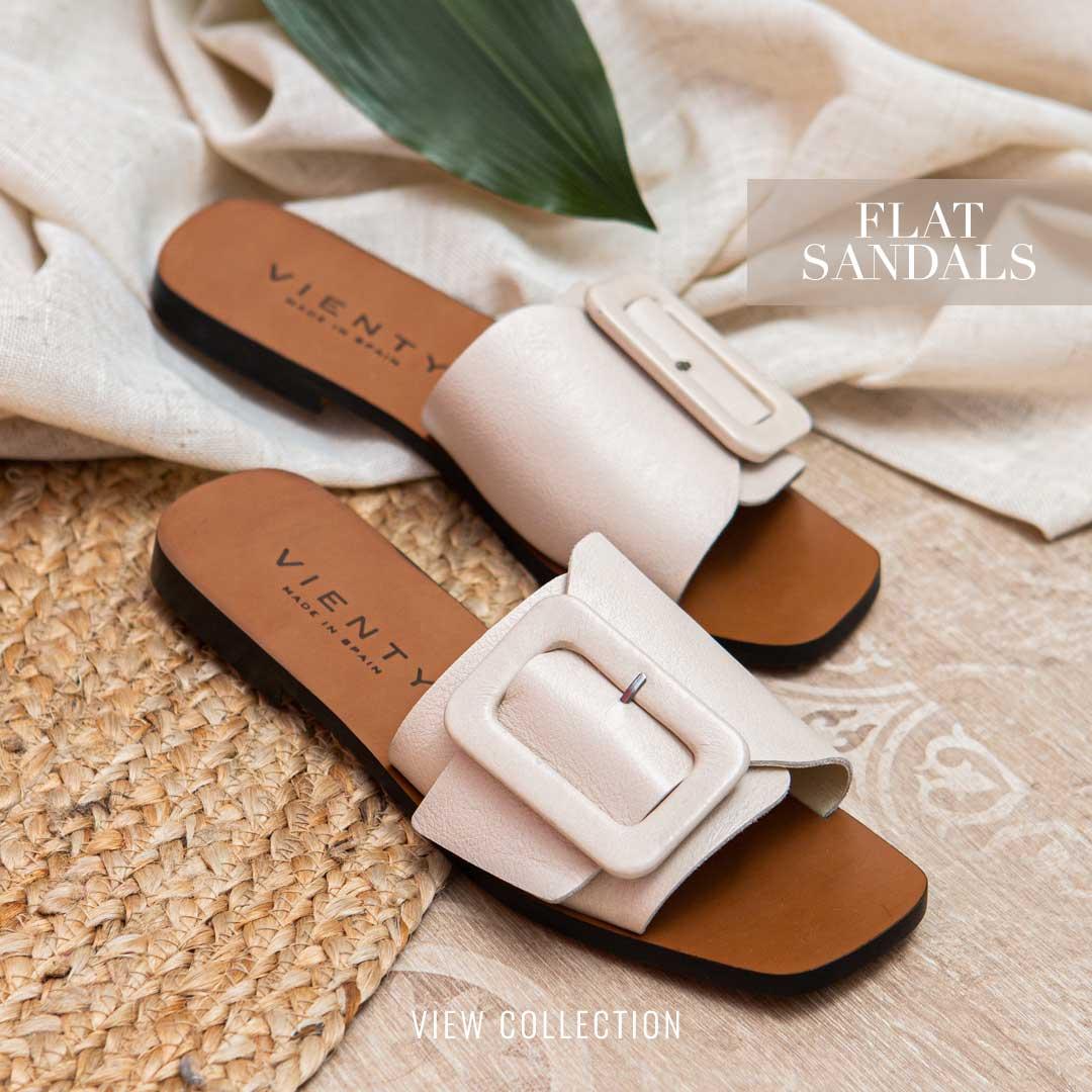 Vienty Flat Sandals