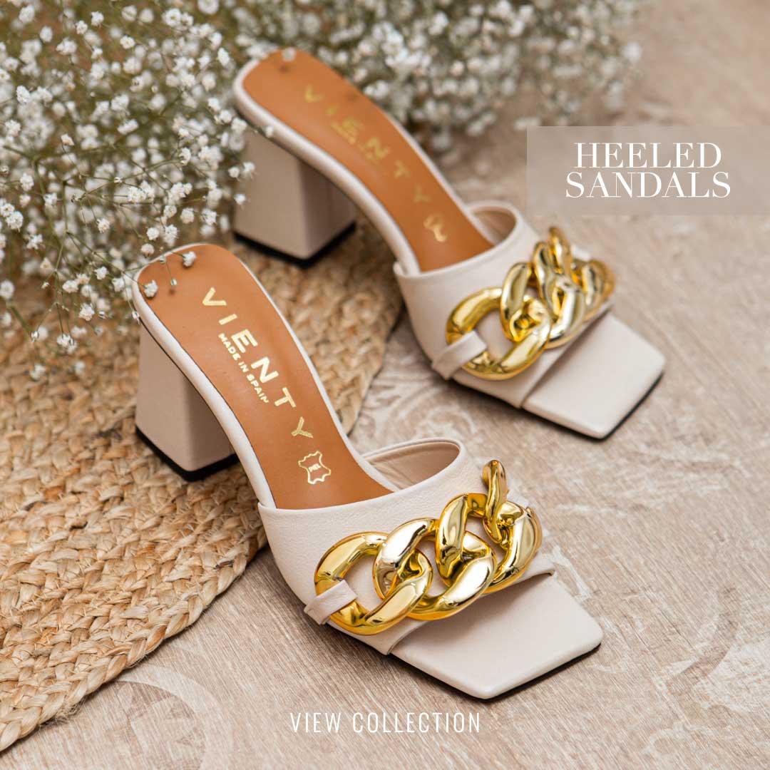 Vienty Heeled Sandals